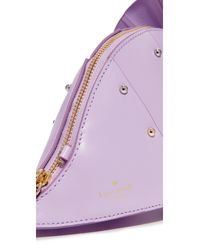 kate spade new york | Purple Triceratops Cross Body Bag | Lyst