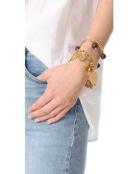 Kate Spade - Metallic Flip A Coin Bracelet - Lyst