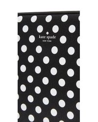 Kate Spade - Black 13 Inch Neoprene Dot Sleeve - Lyst