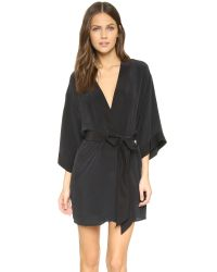 Kiki de Montparnasse - Black Perfect Robe - Lyst