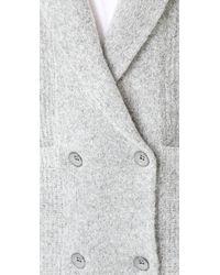 Knot Sisters - Gray El Capitan Sweater Coat - Lyst