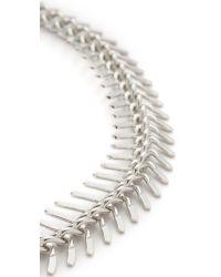 Lacey Ryan - Metallic Fishtail Choker Necklace - Lyst