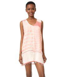 Lemlem | Pink Assaman Tank Dress | Lyst