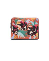 Lizzie Fortunato | Multicolor Safari Cuban Hibiscus Clutch | Lyst