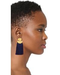 Lizzie Fortunato | Blue Crater Earrings | Lyst