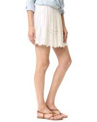 Love Sam - Multicolor Garden Eyelet Embroidered Skirt - Lyst