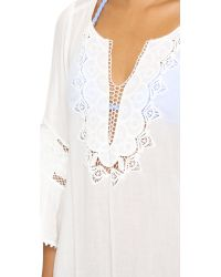 L*Space | White Chase The Sun Breakaway Cover Up | Lyst