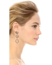 Lulu Frost - Metallic Cosmic Earrings - Lyst
