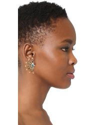 Lulu Frost - Metallic Marjorelle Stud Earrings - Lyst