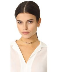 Luv Aj - Metallic The Chain Link Choker Necklace - Lyst