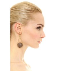 Marni - Metallic Horn Earrings - Lyst