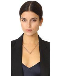 Miansai - Metallic Angular Necklace - Lyst