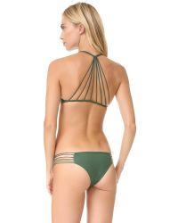 Mikoh Swimwear - Multicolor Banyans String Racer Back Top - Lyst