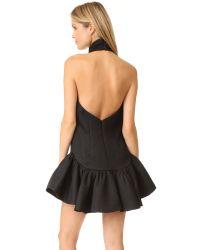 MILLY | Black Gabriella Dress | Lyst