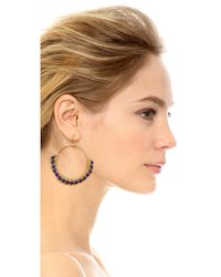 Nakamol - Metallic Daisy Earrings - Lyst