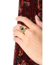 Noir Jewelry - Multicolor Jack Frost Rings Set - Lyst
