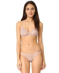 Only Hearts - Gray Coucou Lola Ruffle Bikini Briefs - Lyst
