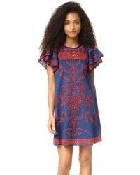 Parker - Blue Simone Dress - Lyst