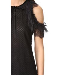 Philosophy Di Lorenzo Serafini - Black Sleeveless Dress - Lyst