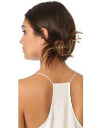 Pluie - Metallic Coral Hair Wand - Lyst