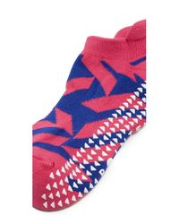 Pointe Studio - Pink Kiko Cushioned Grip Socks - Lyst