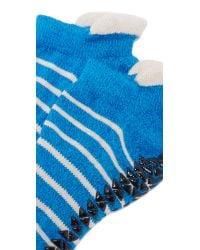 Pointe Studio - Blue Donna Grip Studio Socks - Lyst