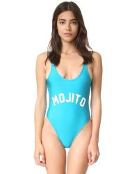 Private Party | Blue Mojito Swimsuit | Lyst