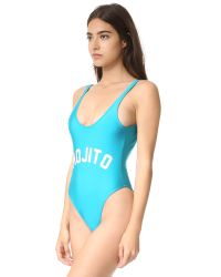 Private Party - Blue Mojito Swimsuit - Lyst