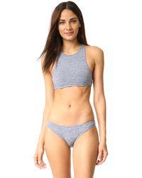 Prism - Gray Benirras Bikini Top - Lyst