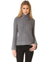 Ramy Brook   Gray Silena Sweater   Lyst