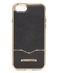 Rebecca Minkoff - Black Inlay Slider Iphone 7 Case - Lyst