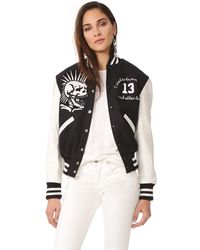 R13 | Multicolor Vintage Varsity Jacket | Lyst