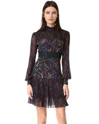 Saloni - Multicolor Dina Dress - Lyst