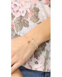 Scosha | Metallic Precious Braid Bracelet | Lyst