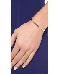 Shashi - Metallic Sonia Cuff Bracelet - Lyst