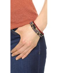 Shashi - Red Karina Bracelet Set - Lyst