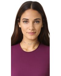 Shashi - Multicolor Sam Choker Necklace - Lyst