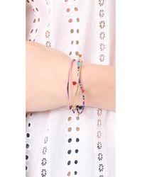 Shashi - Blue Danielle Bracelet Set - Lyst