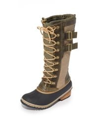 Sorel | Multicolor Conquest Carly Ii Boots | Lyst