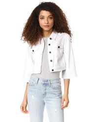 The Fifth Label | White Odyssey Jacket | Lyst