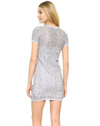 Theory - Gray Nenalo Dress - Lyst