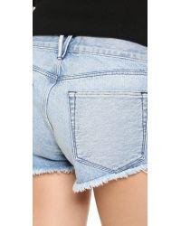 3x1 - Blue Wm5 Cutoff Shorts - Lyst