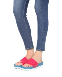 United Nude - Red Lo Res Earth Jelly Slide Sandals - Lyst