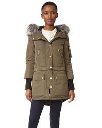 Veronica Beard | Blue East End Parka Puffer Coat | Lyst