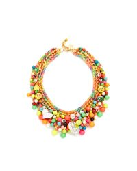 Venessa Arizaga | Multicolor Catch The Rainbow Necklace | Lyst