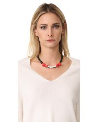 Venessa Arizaga | Multicolor Fragile Necklace | Lyst