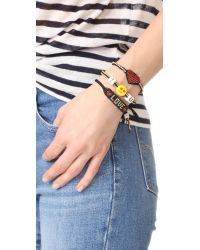 Venessa Arizaga - Multicolor Love Bracelet - Lyst