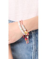 Venessa Arizaga - Multicolor Party Time Bracelet - Lyst