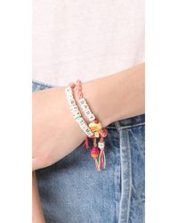 Venessa Arizaga - Pink Baby Cakes Bracelet - Lyst