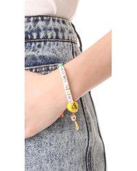 Venessa Arizaga - Multicolor Homegirl Bracelet - Lyst